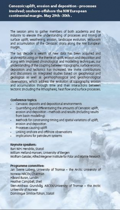 Program Uplift and Erosion - Arctic Days 2017