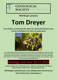 Geology and vine in Bergen