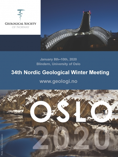 Nordic Geological Winter Meeting 2020, January 8th-10th in Oslo